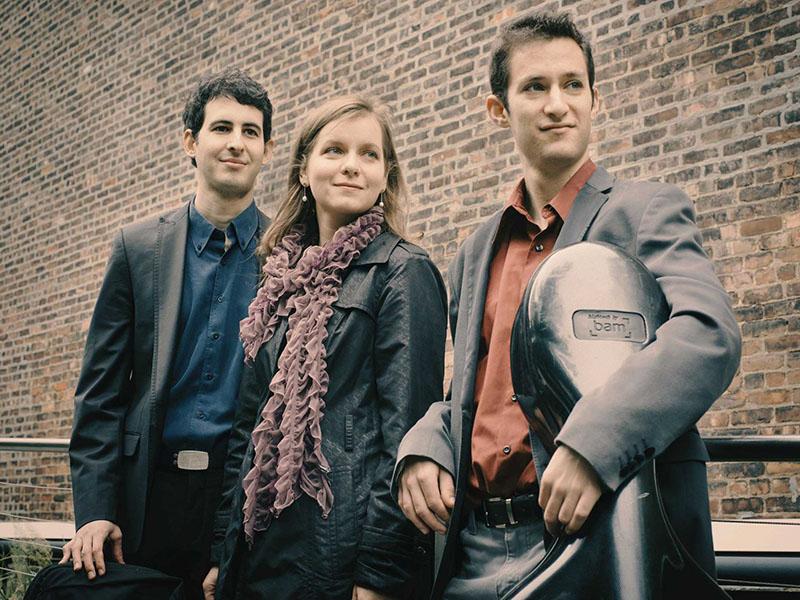 A promo photo of the Lysander Piano Trio