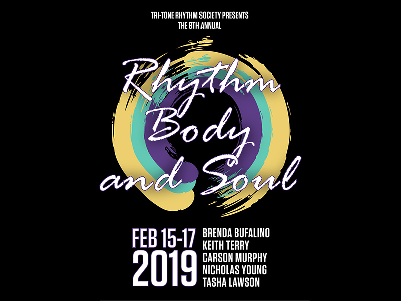 Poster for 2019's Rhythm Body and Soul Festival