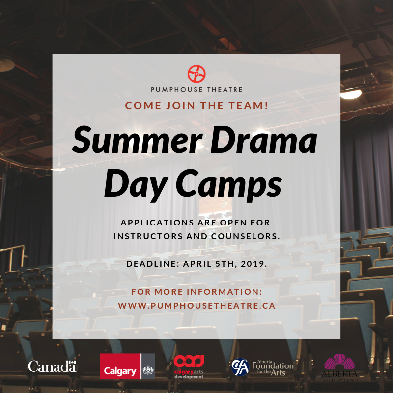 Promo Summer Drama Day Camps Job