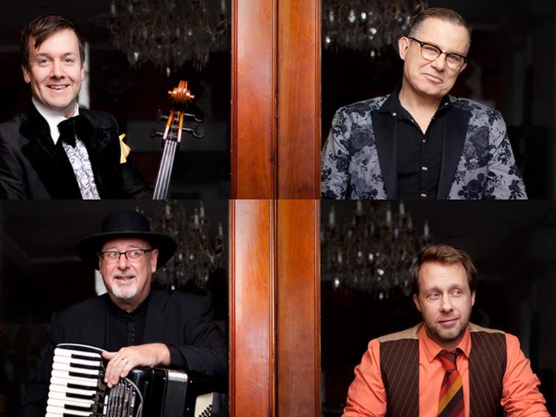 A promo photo of Quartetto Gelato