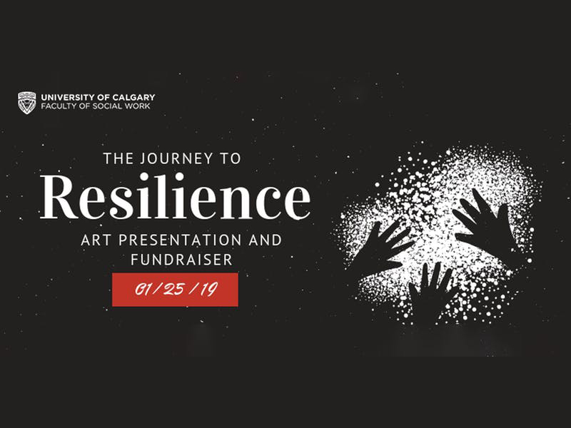 A poster for The Journey to Resilience