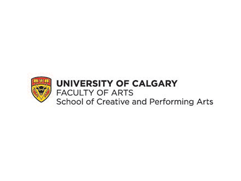 University of Calgary Faculty of Arts School of Creative and Performing Arts Logo