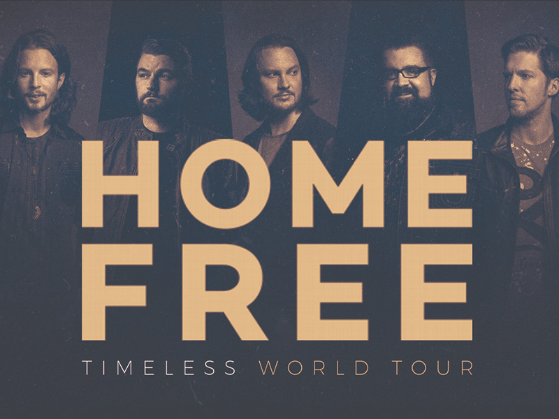 A graphic for Home Free's Timeless World Tour