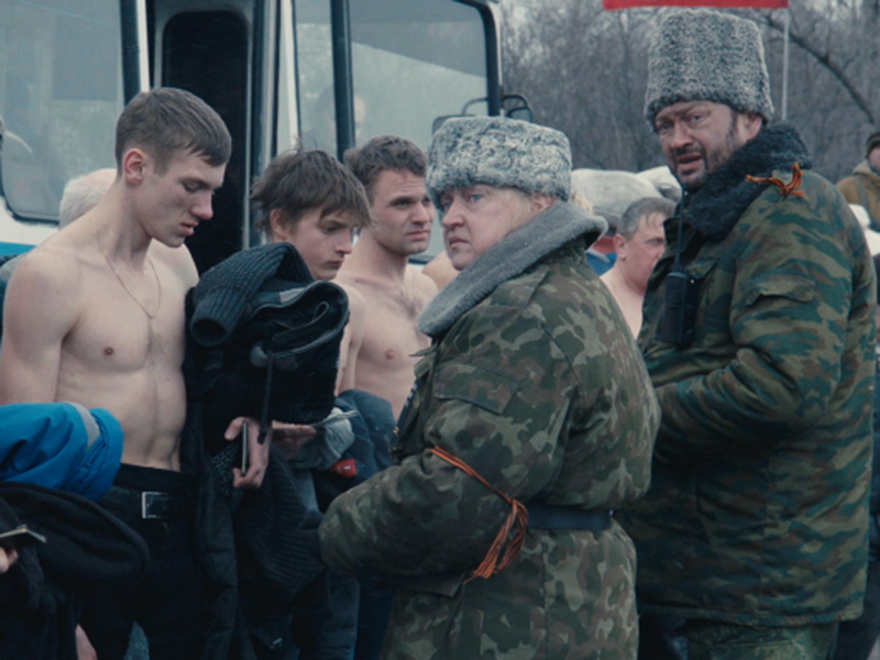 A still from Sergei Loznitsa's Donbass