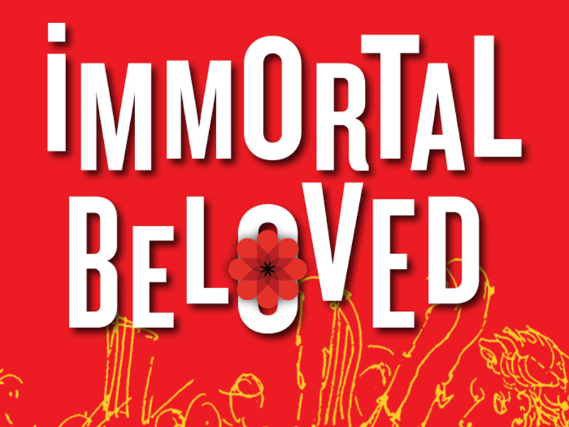 A promo image for the Calgary Civic Symphony's Immortal Beloved