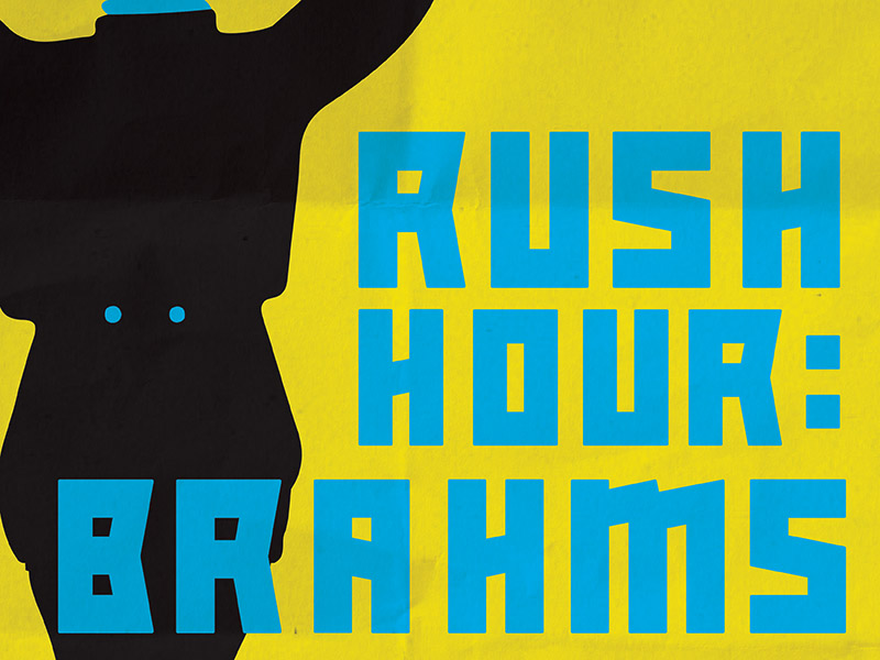 A promo image for Rush Hour Brahms