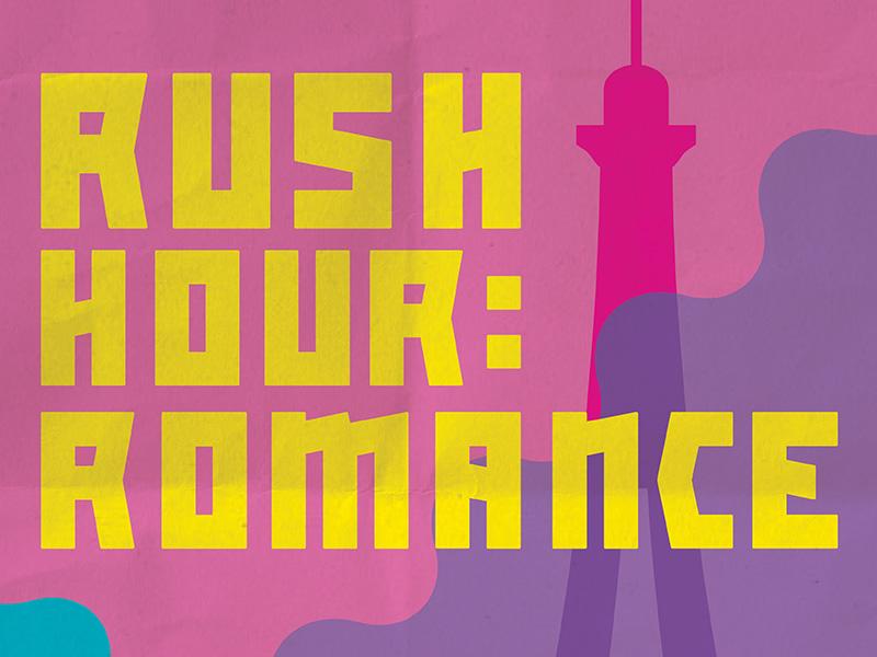 Rush Hour Romance Illustration
