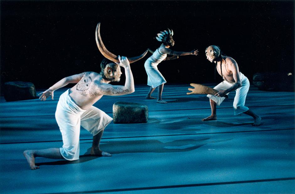 Performance picture – Intercultural Indigenous Choreographers Creation Lab