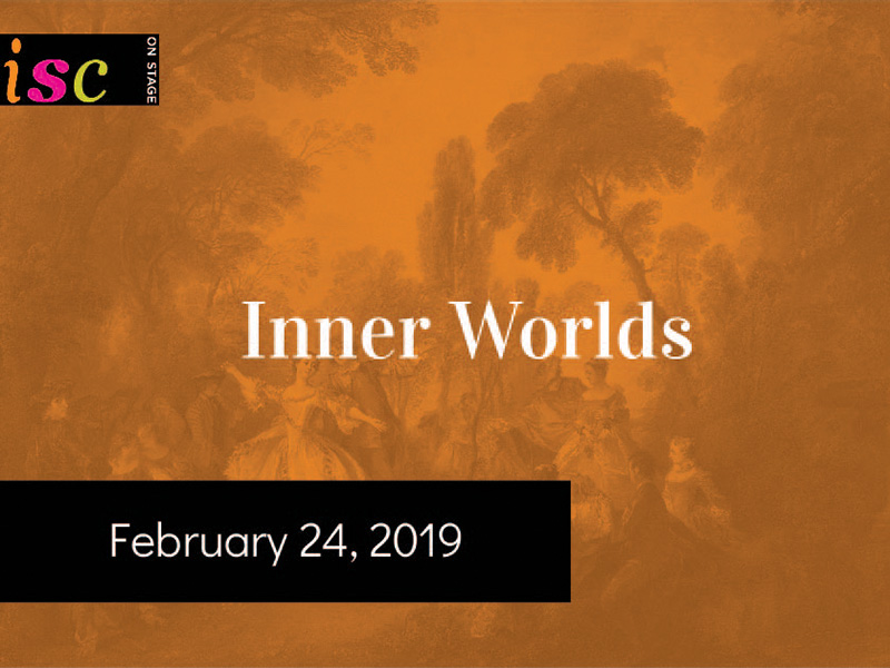 A graphic for the Instrumental Society of Calgary's Inner Worlds