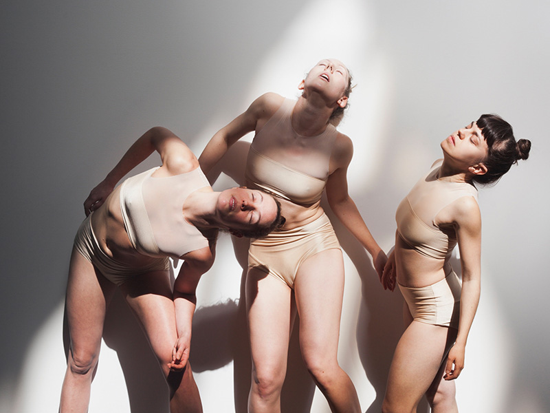 La Tresse Dance Collective's Geneviève Boulet, Erin O'Loughlin, and Laura Toma