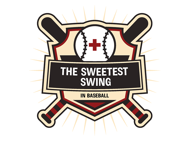 A graphic for Lunchbox Theatre's staged reading of The Sweetest Swing in Baseball