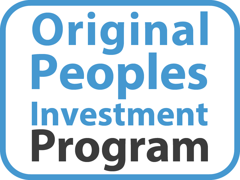 Original Peoples Investment Program Button