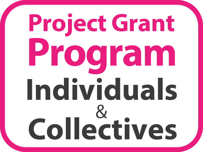 Project Grant Program – Individuals and Collectives Button