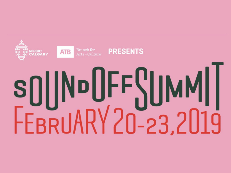 A poster for the 2019 SoundOff Summit