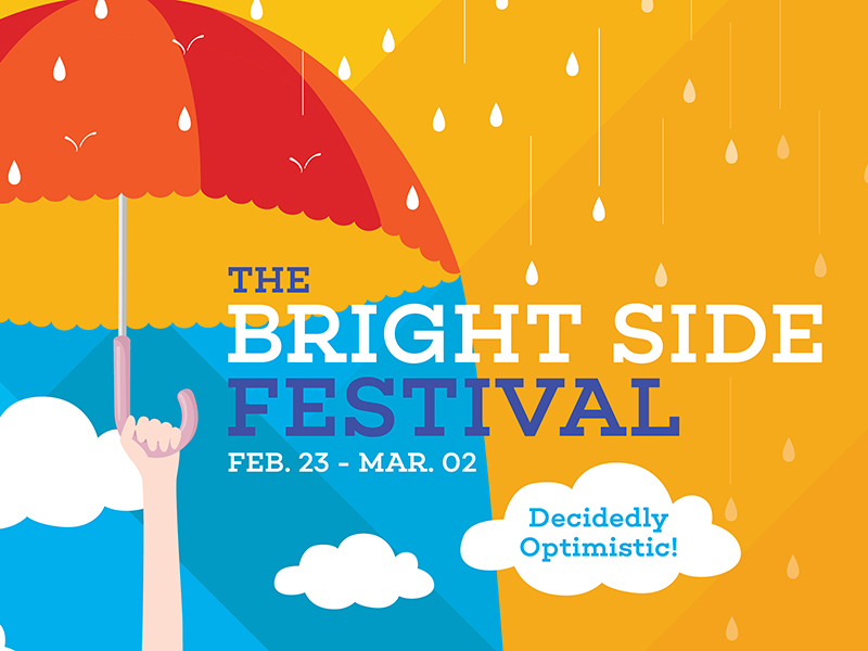 A poster for The Bright Side Festival