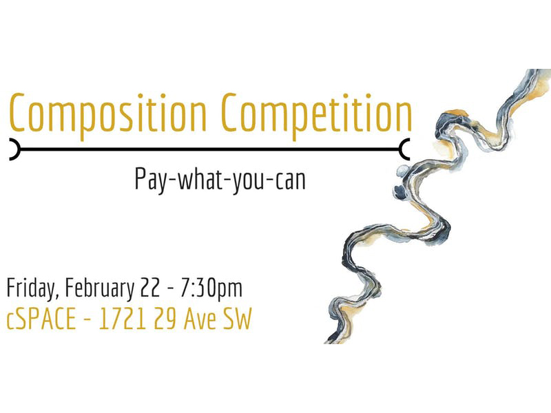 A poster for Timepoint Ensemble's Composer Competition