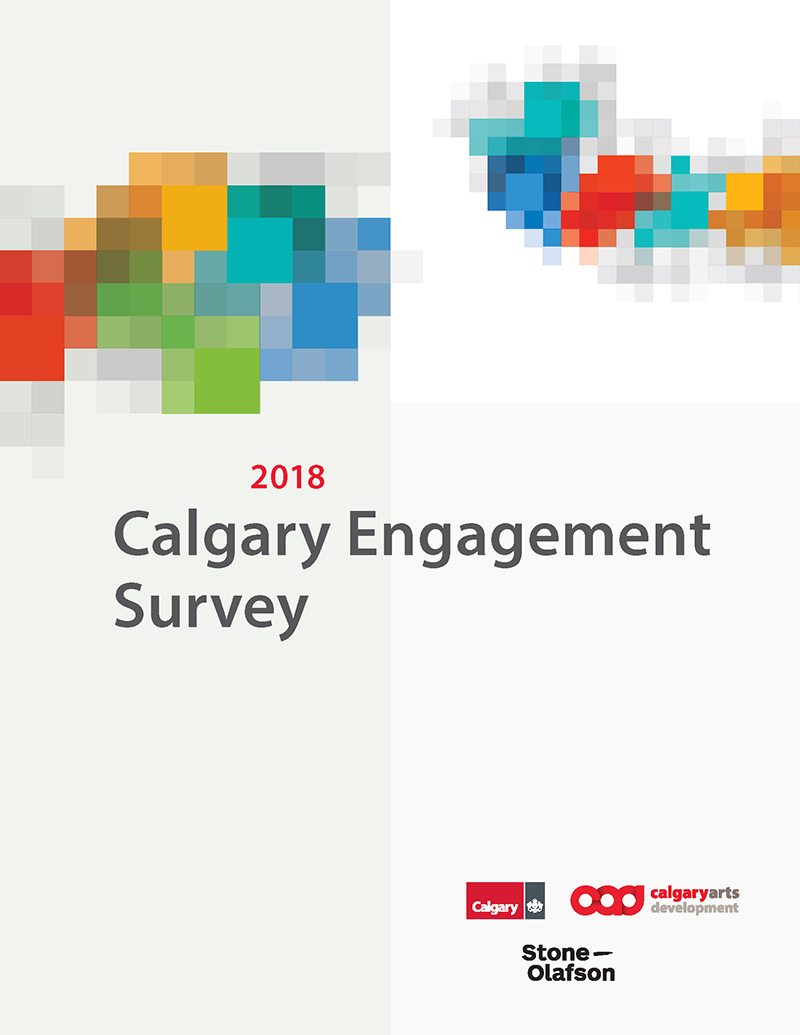 2018 Calgary Engagement Survey Cover