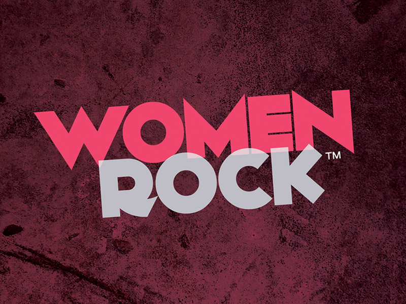 A graphic for Calgary Philharmonic Orchestra's presentation of Women Rock