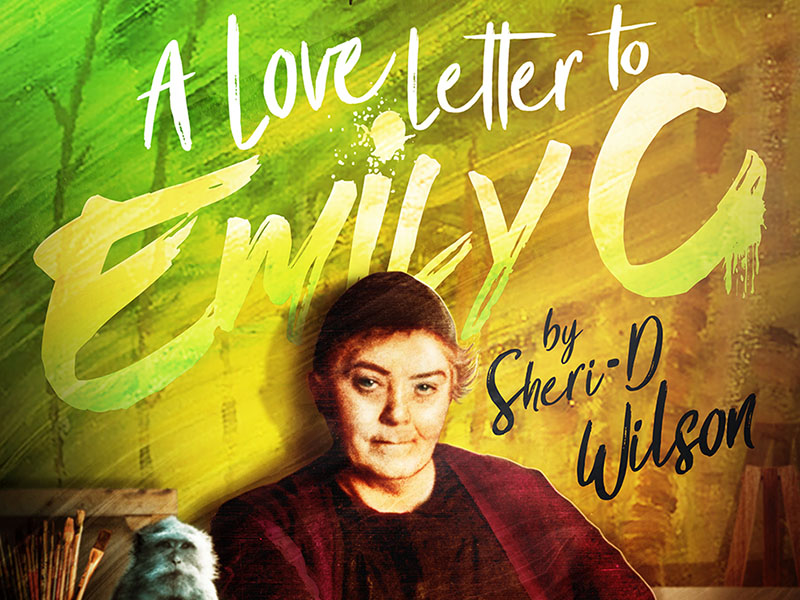 The poster for A Love Letter to Emily C by Sheri-D Wilson