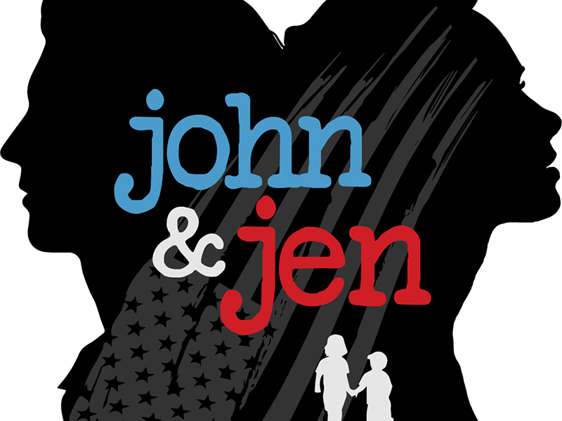 A poster for Imagine Performing Arts' production of John & Jen