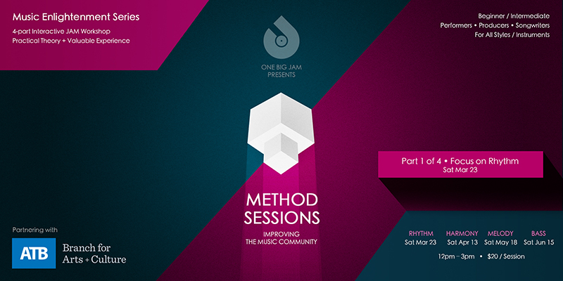 Promo Method Sessions Banner Music Enlightenment Series