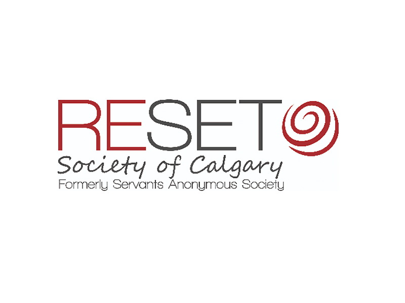 Reset Society of Calgary logo