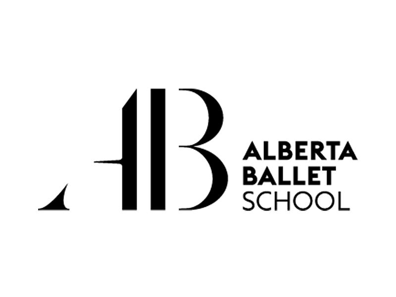 Alberta Ballet School logo