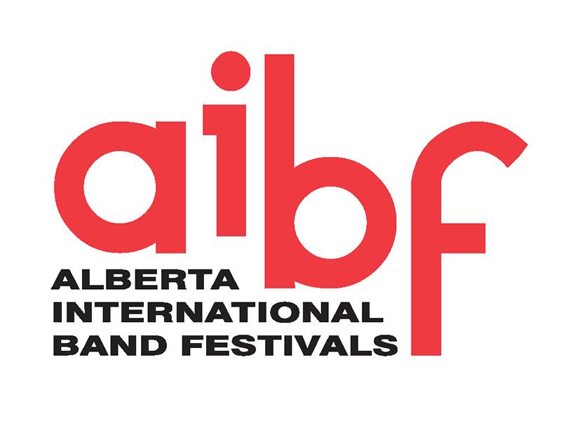 Alberta International Band Festivasl logo