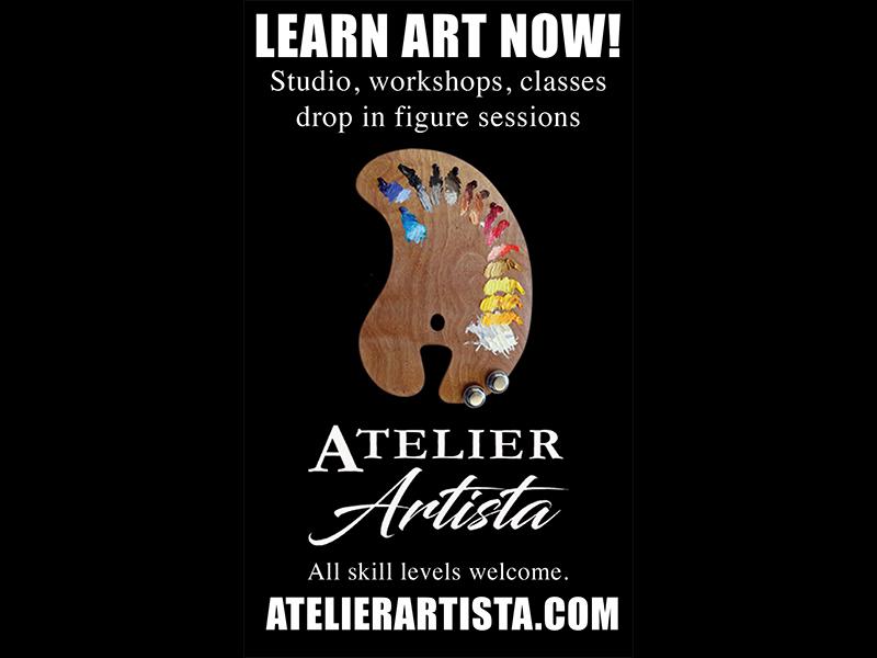 Learn art now at Atelier Artista