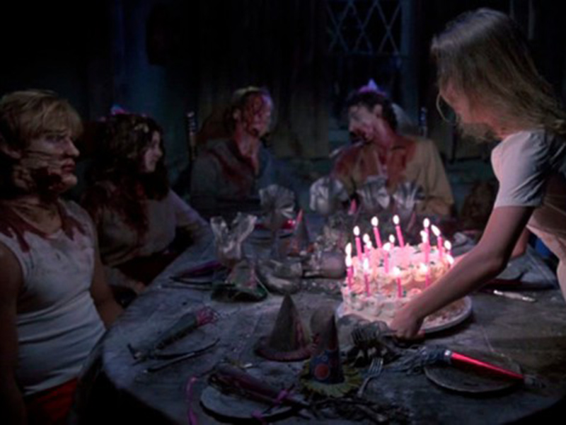 A still from Happy Birthday to Me
