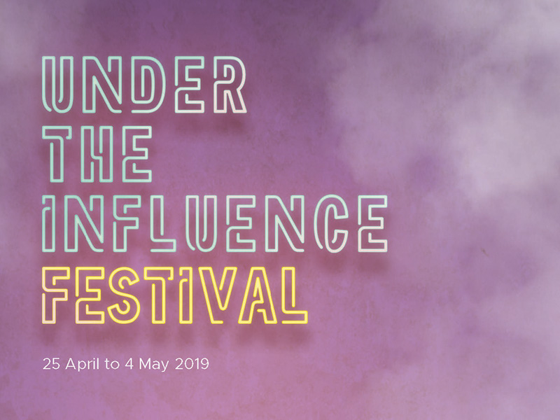 A graphic for the Calgary Philharmonic Orchestra's Under the Influence Festival