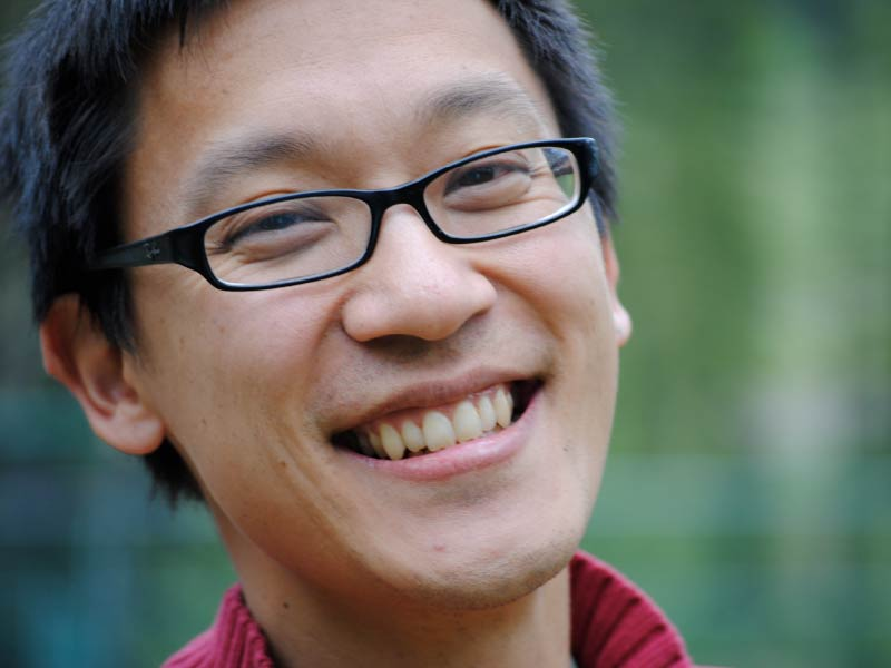 A photo of Chris Hsiung