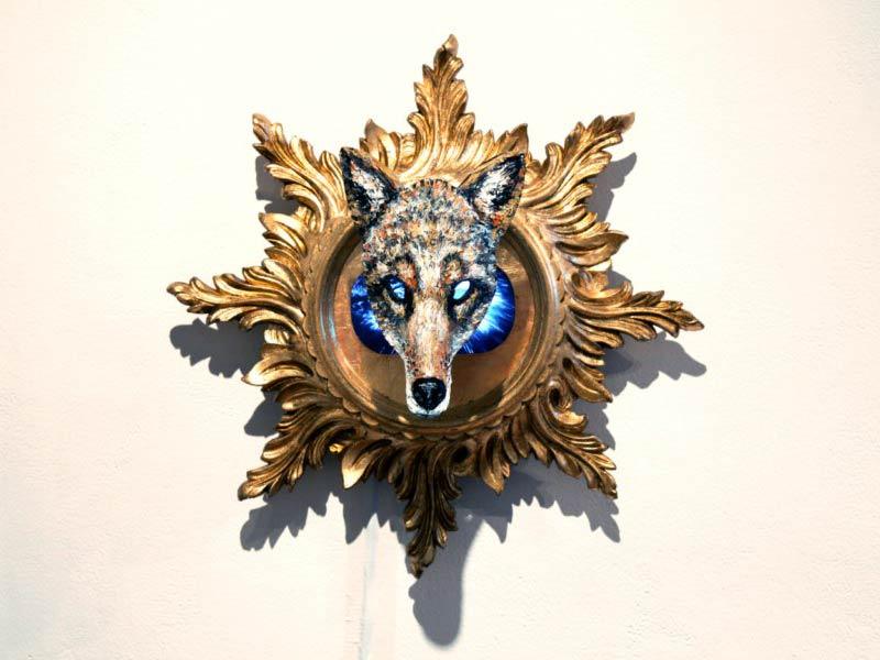 Wolf artwork by Dan Hudson