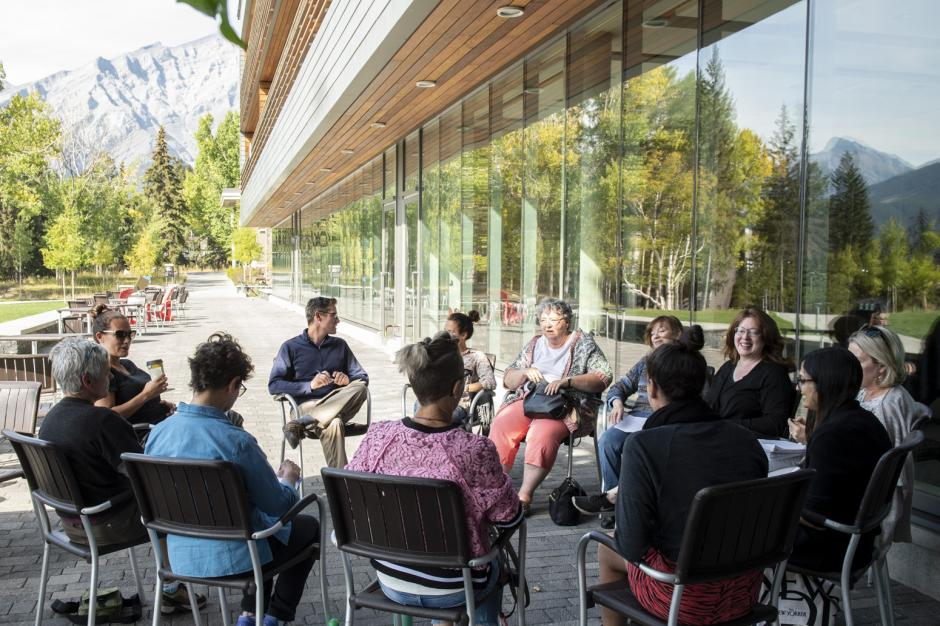 Photo from EMERGING WRITERS INTENSIVE – Banff Centre for Arts and Creativity