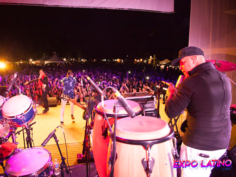The view from the stage at Expo Latino
