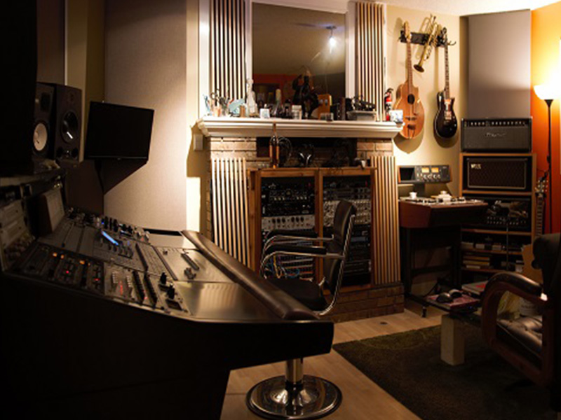 A photo from inside Frequency Studios