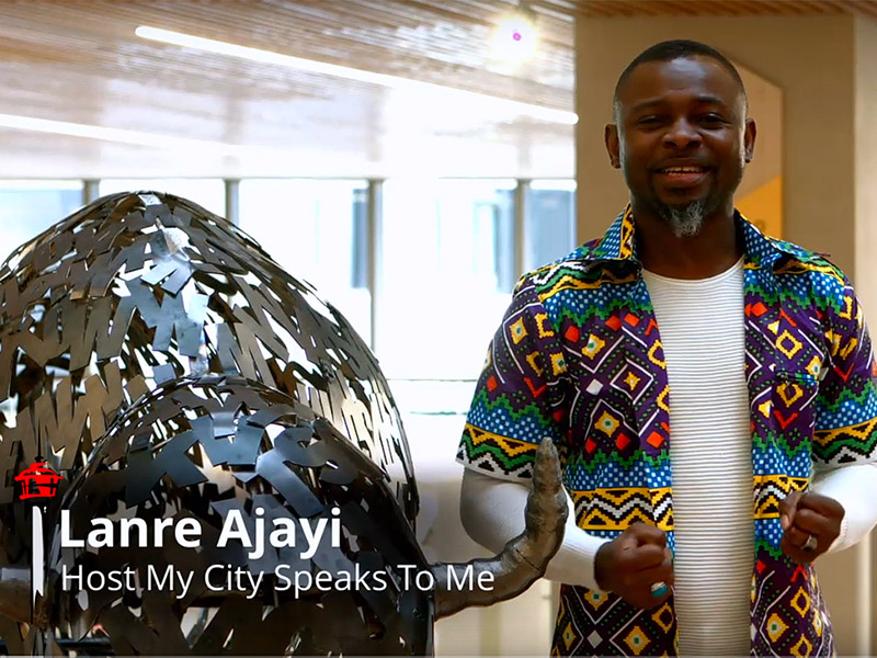Lanre Ajayi introduces viewers to the new Central Library