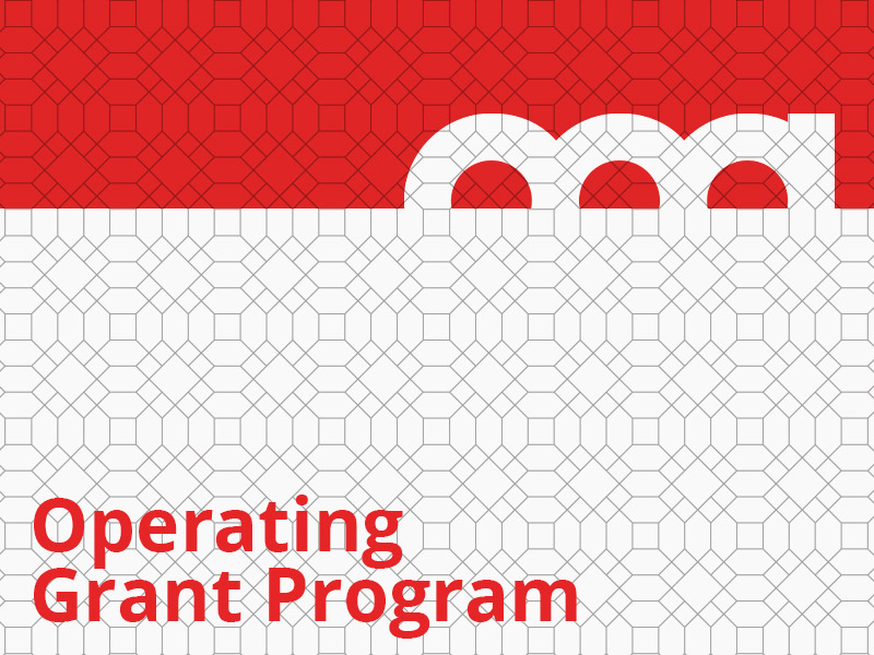 Operating Grant Program graphic