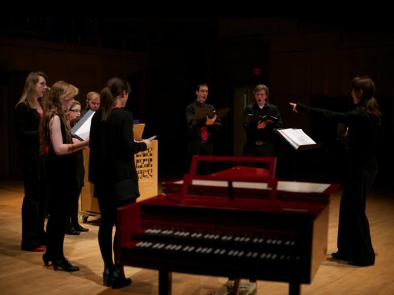 Collegium Musicum performs