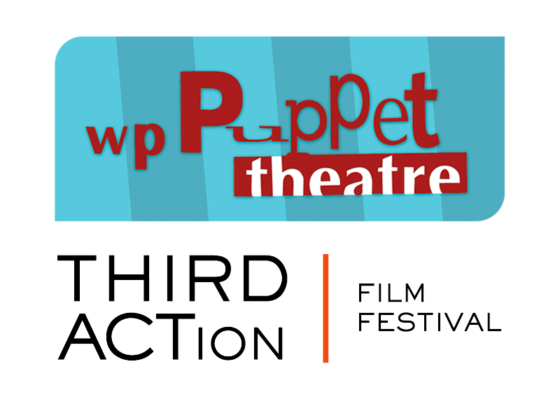 Logos for THIRD ACTion Film Festival and WP Puppet Theatre