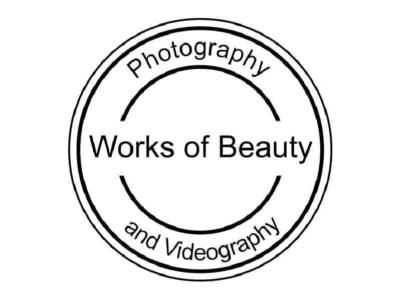 Works of Beauty Photography and videography logo