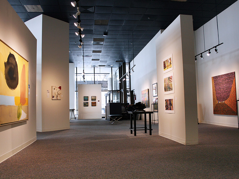An exhibition on display at Wallace Galleries