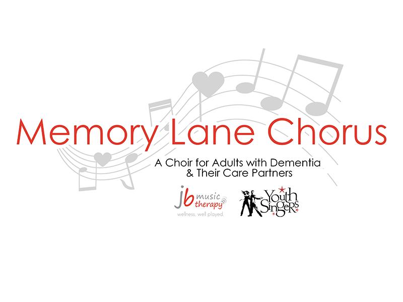 Branding for Memory Lane Chorus