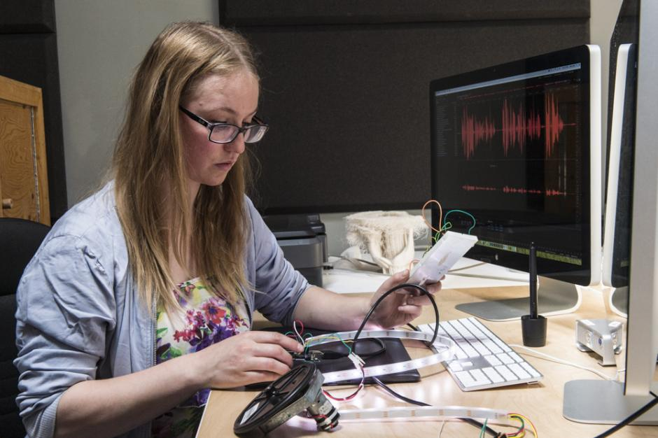 Photo of student –Digital Media –Banff Centre for Arts and Creativity
