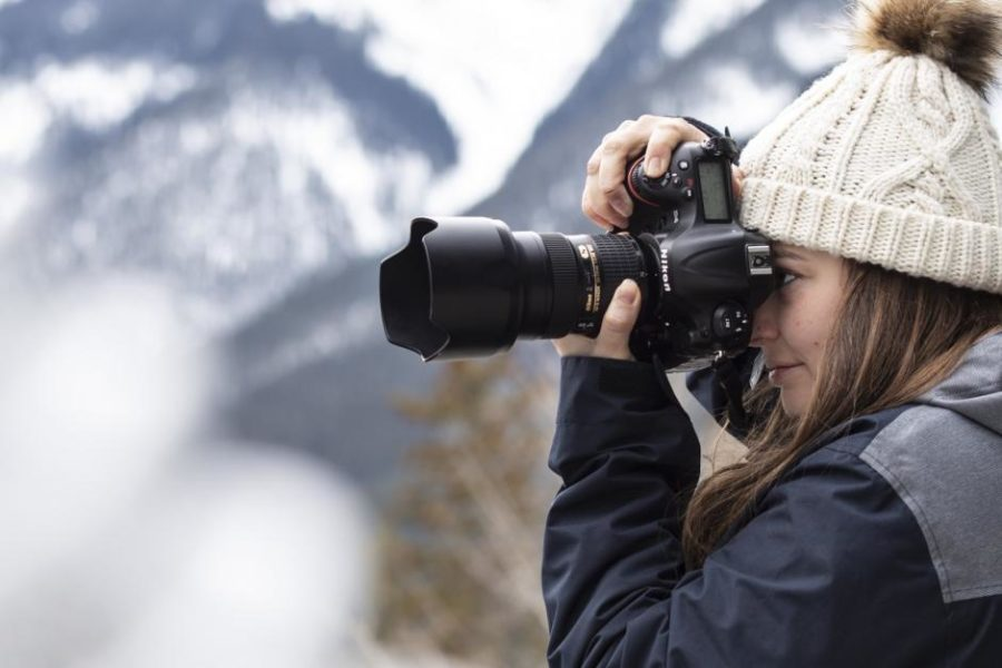 Photo of photographer – Media and Production Practicum