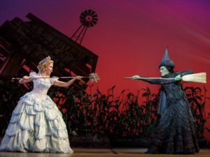 The cast of the touring production of Wicked