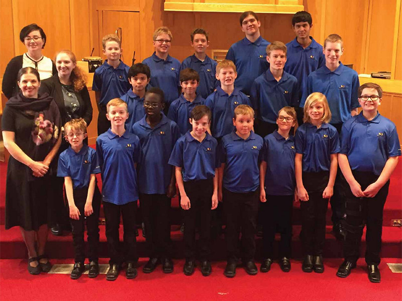 Members of the Calgary Boys' Choir
