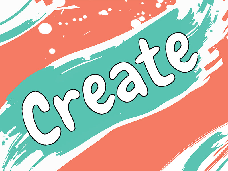 A postcard for Create – Calgary's New Children's Festival