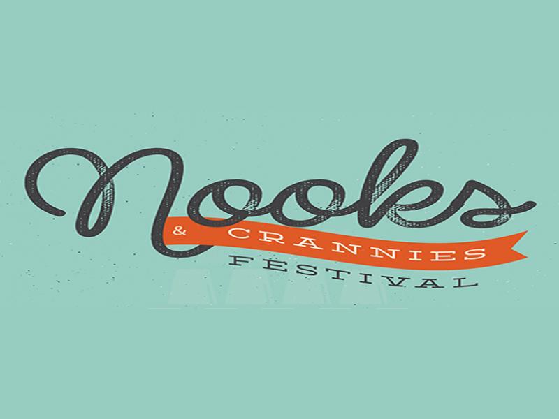 Logo - Nooks & Crannies Festival