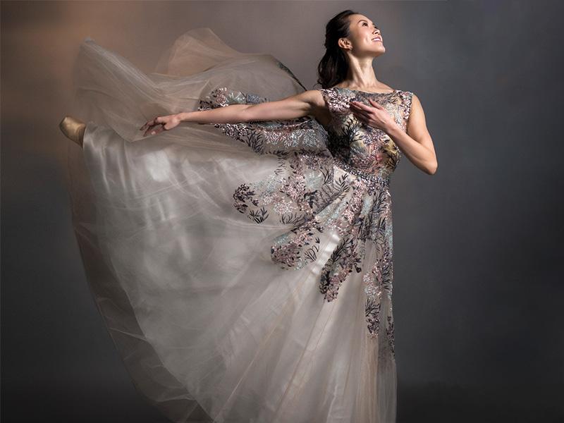 Dancer Mariko Kondo strikes a pose